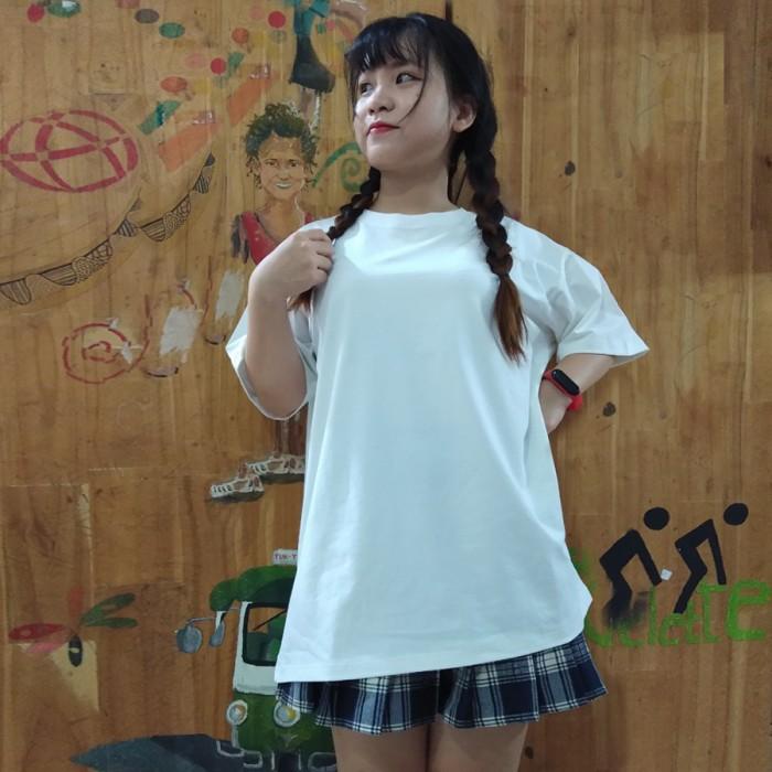 Áo thun unisex lulo 100% cotton dày, form rộng, oversize, mịn và đẹp