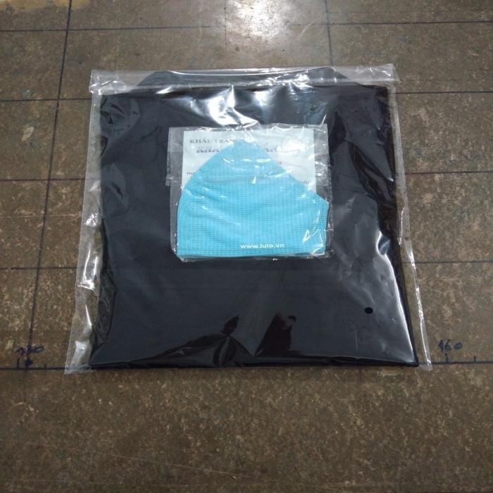 Áo thun đen unisex lulo 100% cotton dày, form rộng, oversize, mịn và đẹp - 4