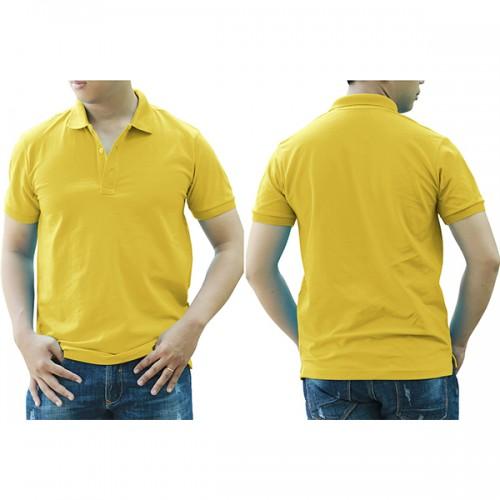 Áo thun cổ trụ - Màu vàng chanh/vàng cúc