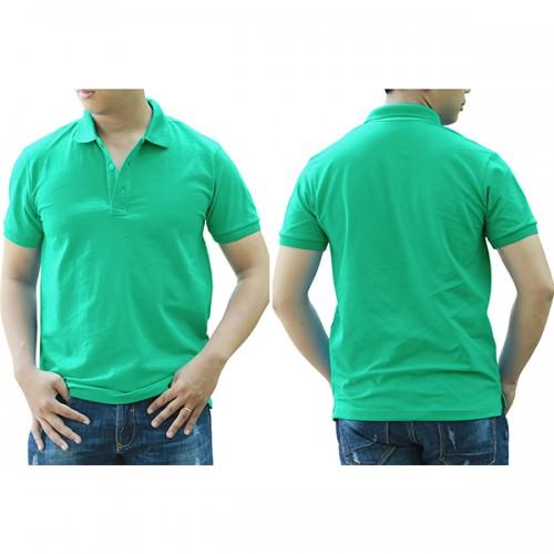 Áo thun cổ trụ - Màu xanh ngọc