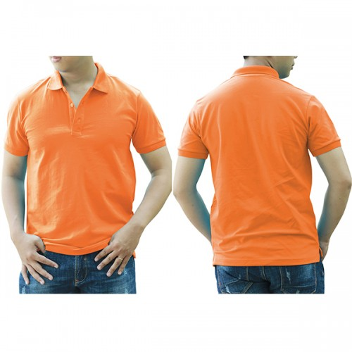 Áo thun cổ trụ - Màu cam