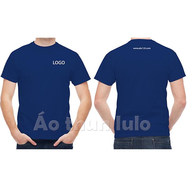 In/thêu logo và website/slogan sau lưng