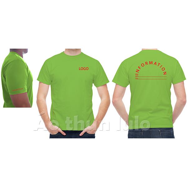 In/thêu logo, vòng cung sau lưng và tay áo