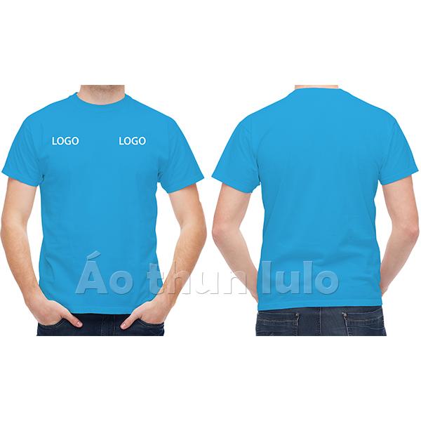 In/thêu 2 logo