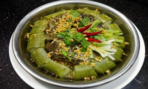 Snakehead fish steams with gourd: 90% citizen in Western of Vietnam know this dish
