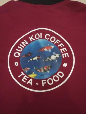 Cập nhật đơn hàng áo thun Quin Koi Coffee Garden